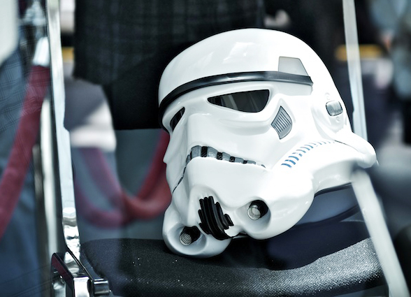 Break time for the Stormtroopers, Comic Con 2011 © Gary Allard