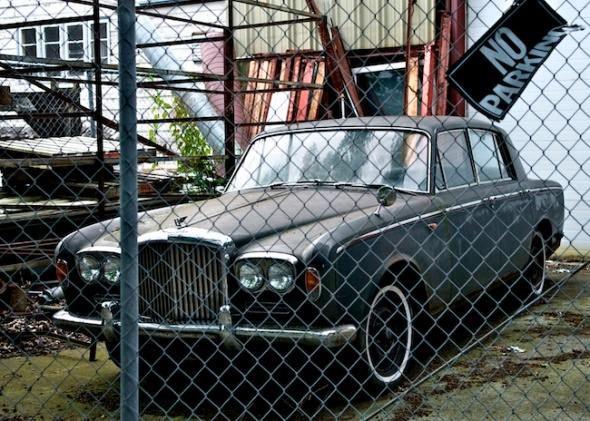 Mossy Bentley T-Series in Ballard, WA © Gary Allard